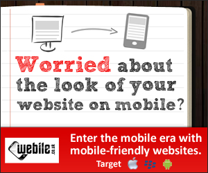 Mobile websites for hot new leads